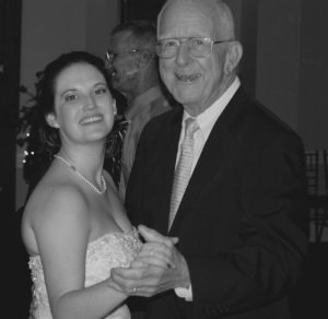 Monica and Pawpaw.   Love them both.   Who would have dreamed we would see this dance?!!!